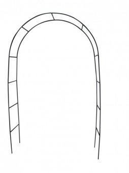rosenbogen rankhilfe rankgitter rund f r garten in gr n aus metall gartenspalier ebay. Black Bedroom Furniture Sets. Home Design Ideas