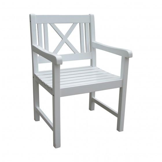 Zebra Gartenmobel Set : GARTENMÖBEL Malmö Gartenset Bank Tisch Sessel Holz Eukalyptus weiß