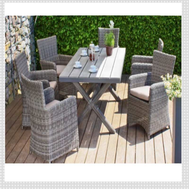 tischgruppe anzio sessel tisch stuhl sitzgruppe garten m bel gartenm bel rattan ebay. Black Bedroom Furniture Sets. Home Design Ideas